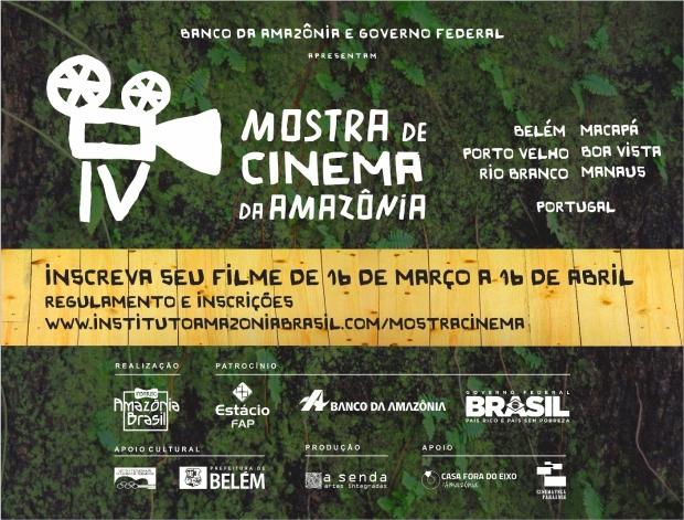 Flyer Web Mostra de Cinema da Amazonia Final