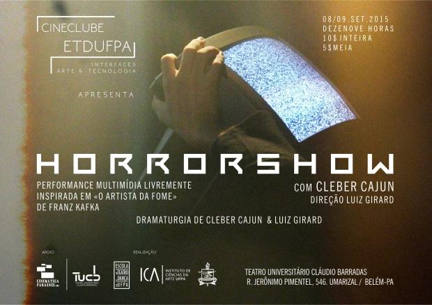 Horror Show Cineclube Cartaz melhor